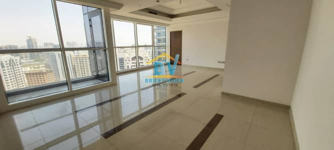 3 Bedroom Apartment for Rent in Corniche Area, Abu Dhabi - Modern & Classy 3BHK |Maids | Balcony Facilities And Parking