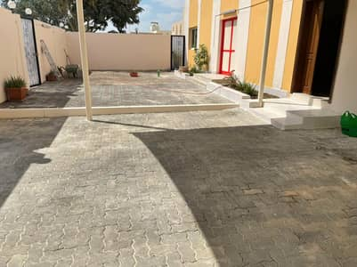 Super Deluxe 2 bed rooms Mulhaq with huge yard at Al Shamkha
