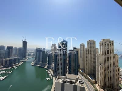 1 Bedroom Flat for Rent in Dubai Marina, Dubai - Chiller Free | Marina View | Upgraded  Interior