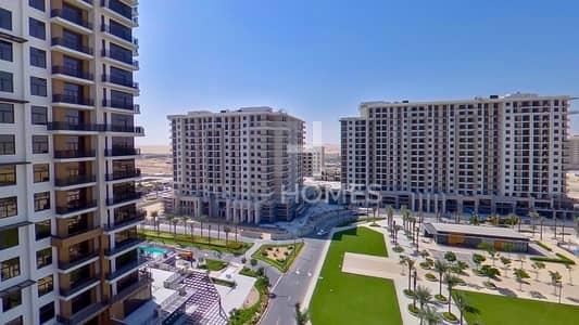 شقة 2 غرفة نوم للايجار في تاون سكوير، دبي - High Floor   Park View   Keys in Hand