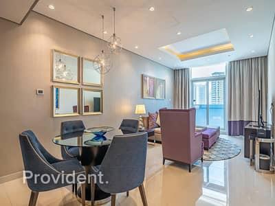 فلیٹ 2 غرفة نوم للايجار في وسط مدينة دبي، دبي - Spectacular   Fully Furnished   Spacious