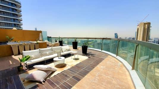 3 Bedroom Penthouse for Sale in Downtown Dubai, Dubai - Furnished Penthouse w Burj Khalifa view