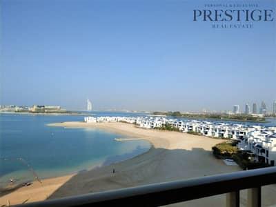 شقة 2 غرفة نوم للبيع في نخلة جميرا، دبي - Exclusive 2 Beds | Sea view | Palm Jumeirah