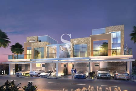 3 Bedroom Townhouse for Sale in DAMAC Hills (Akoya by DAMAC), Dubai - 3 Bed  Single Row Townhouse   4 yr Payment  plan