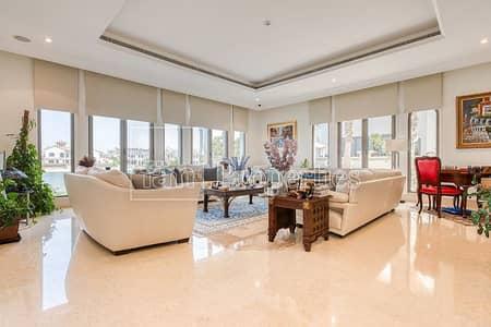 فیلا 6 غرف نوم للايجار في نخلة جميرا، دبي - 6 BR Signature Villa | Skyline View | Vacant