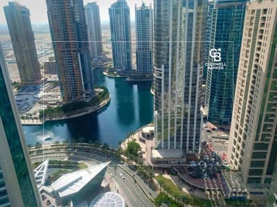 1 Bedroom Flat for Rent in Jumeirah Lake Towers (JLT), Dubai - High Floor/ Lake View/ With Parking