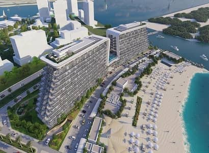 1 BR For Sale In Yas Island at  Beach Front | Direct Access to the Sea | Infinity Pool!