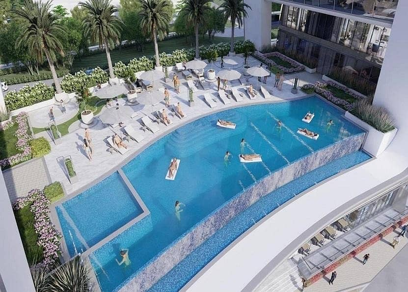 2 1 BR For Sale In Yas Island at  Beach Front | Direct Access to the Sea | Infinity Pool!