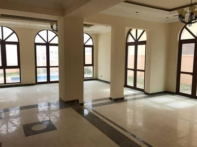 فیلا 4 غرف نوم للايجار في عقارات جميرا للجولف، دبي - Independant Private Pool 4BR+M Villa in Orang Lake
