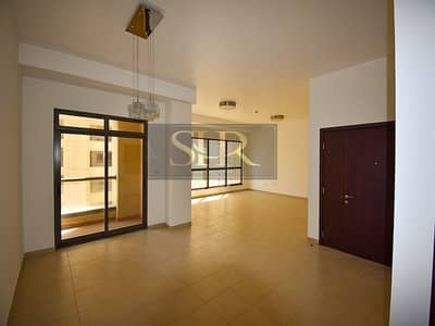 3 Bedroom Flat for Rent in Jumeirah Beach Residence (JBR), Dubai - Best Price -  3 BR + maid - Marina view - Vacant