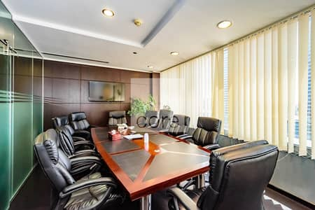 Office for Sale in Jumeirah Lake Towers (JLT), Dubai - Vacant Office | Fully Furnished and Partitioned