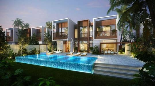 تاون هاوس 5 غرف نوم للبيع في جميرا، دبي - Luxurious Island Villa | Sea View | Beach Access