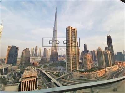 2 Bedroom Hotel Apartment for Rent in Downtown Dubai, Dubai - BEST PRICE   BIGGEST LAYOUT   FULL BURJ  300K