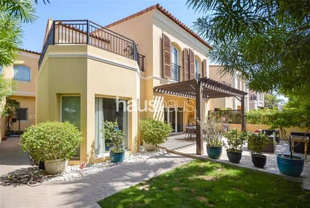 3 Bedroom Townhouse for Sale in Green Community, Dubai - New Listing | End Unit | Close to Pool and Park