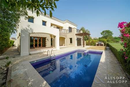 فیلا 5 غرف نوم للايجار في عقارات جميرا للجولف، دبي - Vacant   Golf/Lake Views   Five Bedrooms