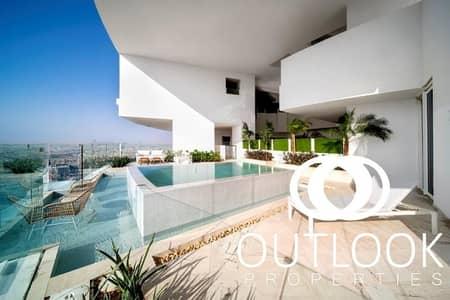 بنتهاوس 4 غرف نوم للايجار في قرية جميرا الدائرية، دبي - Penthouse for Rent | Private Pool | 5* Facilities
