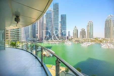 2 Bedroom Flat for Rent in Dubai Marina, Dubai - Amazing Marina View | Huge Balcony | Chiller Free