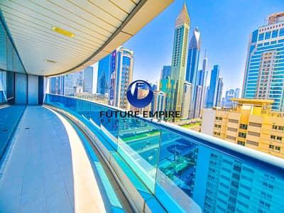 شقة 2 غرفة نوم للايجار في شارع الشيخ زايد، دبي - Chiller Free 2BHK | SZR View | 1 Month Free