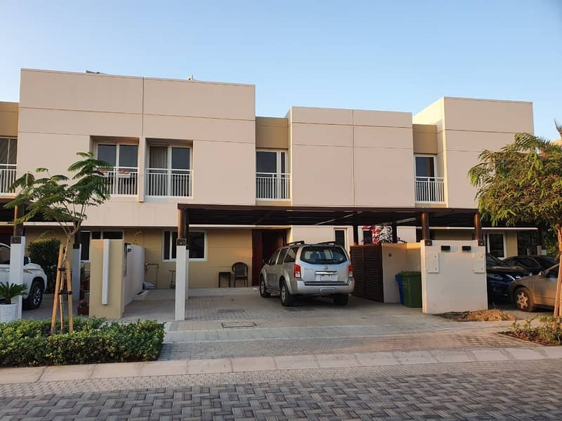 Landscaped   3BR Townhouse in Al Zahia   Phase 2