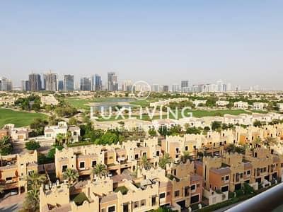 2 Bedroom Apartment for Rent in Dubai Sports City, Dubai - Spacious 2 Bedrooms   High Floor   Full Golf View
