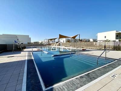 تاون هاوس 3 غرف نوم للايجار في جزيرة ياس، أبوظبي - Luxurious Single Row 3+1+M Type EA with Garden