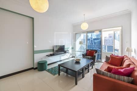 1 Bedroom Apartment for Rent in Jumeirah Lake Towers (JLT), Dubai - Bright 1BR High Floor  O2 Residence   JLT