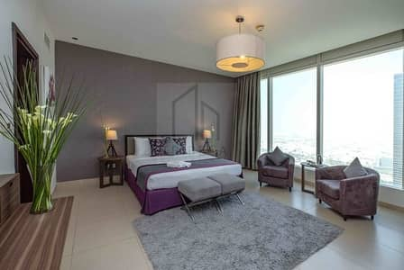 2 Bedroom Hotel Apartment for Rent in Sheikh Zayed Road, Dubai - Well Appointed Bedroom | Fully Equipped Kitchen | Nassima Tower