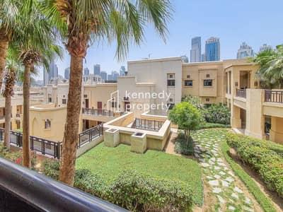 فلیٹ 1 غرفة نوم للايجار في المدينة القديمة، دبي - Near to Dubai Mall | Upgraded Interior | Huge Balcony