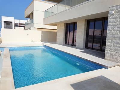 فیلا 5 غرف نوم للبيع في جزيرة السعديات، أبوظبي - Corner 5 BHK Villa with Private Pool