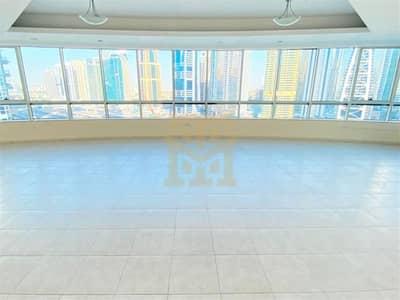 فلیٹ 4 غرف نوم للايجار في دبي مارينا، دبي - High Floor | Modern 4BR | Unfurnished | Ready to Move