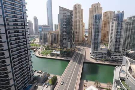 2 Bedroom Apartment for Rent in Dubai Marina, Dubai - Chiller Free  2BHK + Maids   Waves Tower   Marina View