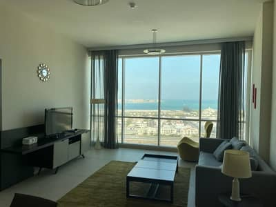 1 Bedroom Apartment for Rent in Al Sufouh, Dubai - fully furnished with full sea view