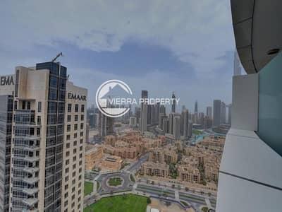 شقة 2 غرفة نوم للايجار في وسط مدينة دبي، دبي - FULLY FURNISHED I HIGH FLOOR I COMMUNITY VIEW