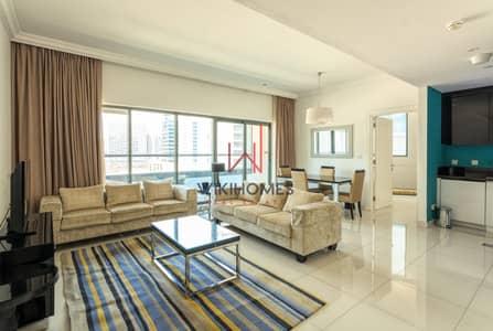 فلیٹ 1 غرفة نوم للايجار في الخليج التجاري، دبي - Very Well Maintained | Pool View | Large Balcony