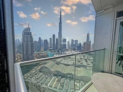 2 Bedroom Flat for Sale in Downtown Dubai, Dubai - Burj Khalifa View / Natrually Bright /