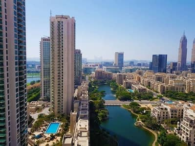 3 Bedroom Apartment for Sale in The Views, Dubai - Best View of the Canal | Upgraded Duplex