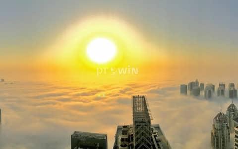 بنتهاوس 5 غرف نوم للبيع في دبي مارينا، دبي - Best Sunset View |High Floor | Panoramic Palm & Marina View