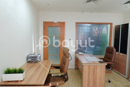 Office for Rent in Bur Dubai, Dubai - DESK SPACE WITH EJARI | DED APPROVED | FREE WIFI, DEWA | FREE PARKING | NO COMMISSION