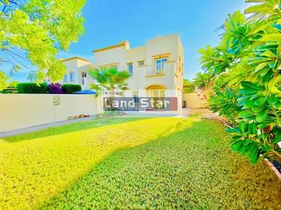 فیلا 2 غرفة نوم للايجار في الينابيع، دبي - Available From 1st of August | 2BR+Study | Type 4E | Big Plot