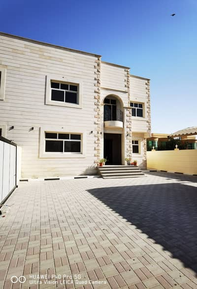 6 Bedroom Villa for Rent in Mohammed Bin Zayed City, Abu Dhabi - PRIVATE ENTRANCE NEW VILLA 6BHK WITH MAID ROOM BUILT IN WARDROBE BIG FRONT YARD COVERED PARKING AT MBZ 160K