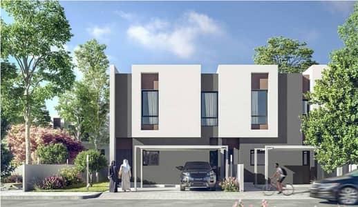 3 Bedroom Townhouse for Sale in Aljada, Sharjah - Corner |3BR Townhouse | Sarab-Aljada