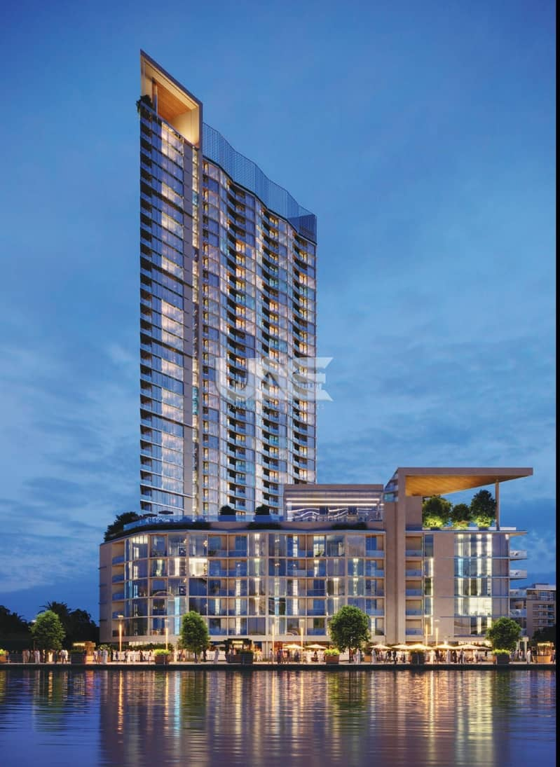 9 NEW LAUNCH - 50% DLD WAIVER - BEST PRICES - WATERFRONT APARTMENTS