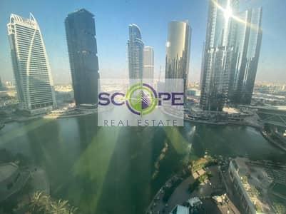 1 Bedroom Apartment for Sale in Jumeirah Lake Towers (JLT), Dubai - AMAZING 1 BEDROOM FULL LAKE VIEW NEAR METRO