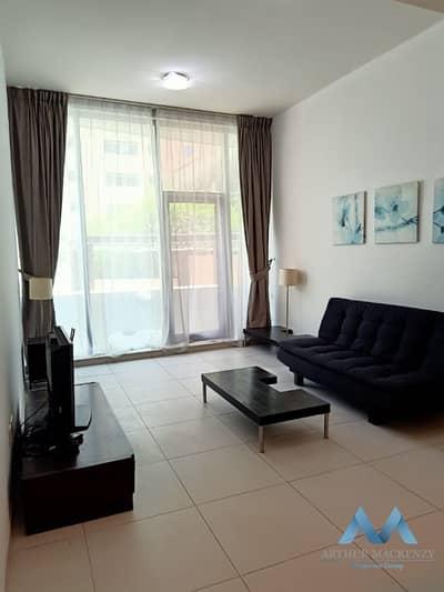 فلیٹ 1 غرفة نوم للايجار في دبي مارينا، دبي - FULLY FURNISHED 1BR   KITCHEN EQUIPPED   G-FLOOR WITH TERRACE ECCESS    PANORAMIC TOWER   DUBAI MARINA