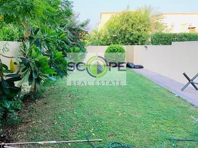 فیلا 2 غرفة نوم للايجار في الينابيع، دبي - 2 Beds with Large garden for rent