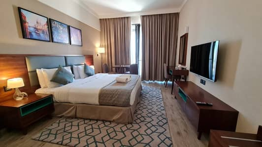 Studio for Rent in Jumeirah Village Circle (JVC), Dubai - PAY 4CHQS | FULLY FURNISHED | STUDIO + BALCONY | 32