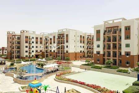 فلیٹ 1 غرفة نوم للايجار في الغدیر، أبوظبي - Well Maintained Unit Full Of Lifestyle Advantages