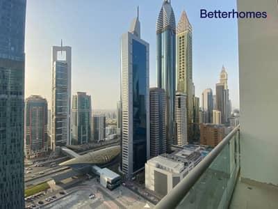 شقة 1 غرفة نوم للايجار في مركز دبي المالي العالمي، دبي - The apartment is spacious and full of light