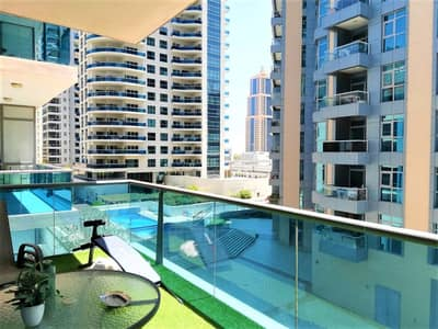 فلیٹ 1 غرفة نوم للبيع في دبي مارينا، دبي - شقة في أزور دبي مارينا 1 غرف 695000 درهم - 5184311
