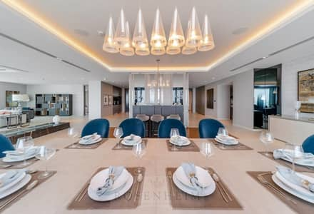 5 Bedroom Flat for Sale in Palm Jumeirah, Dubai - Sunset Sea View | Waterfront Living | Payment Plan